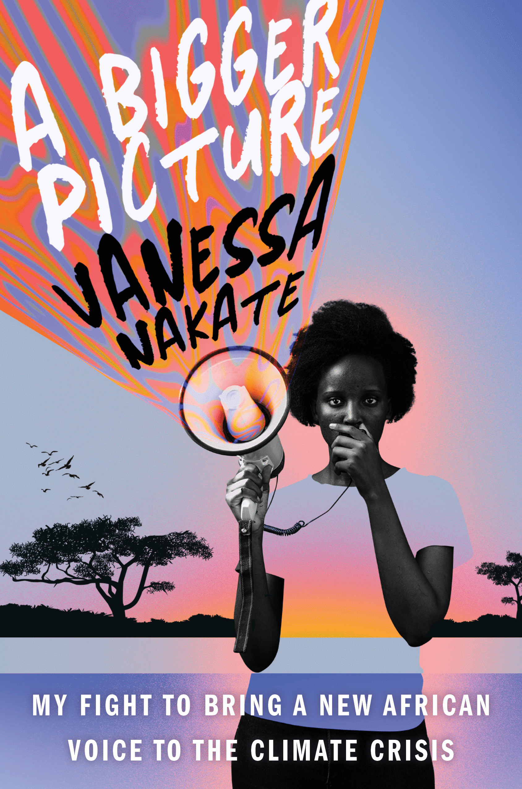 Cover for A Bigger Picture by Vanessa Nakate